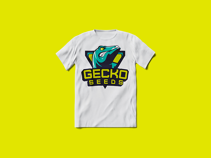 T-shirt Gecko Seeds