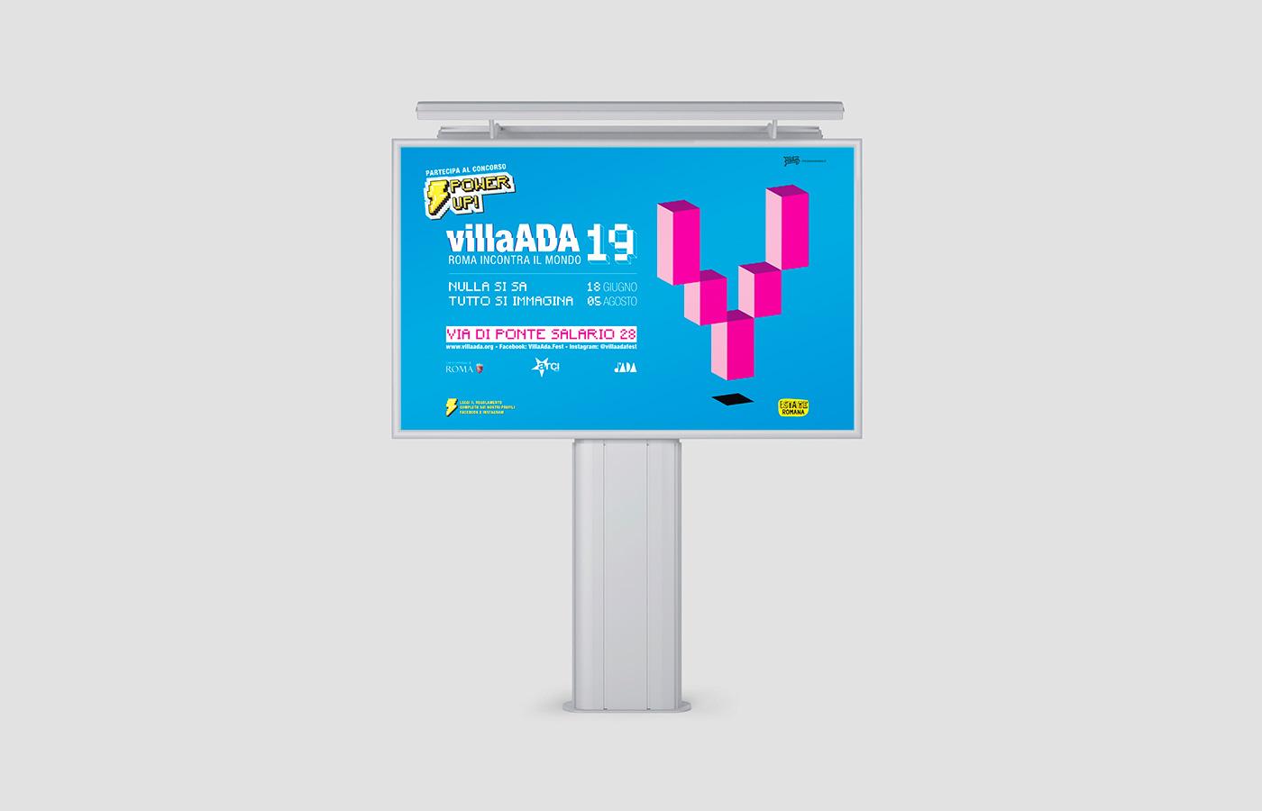 Advertising Villa Ada Festival 2019