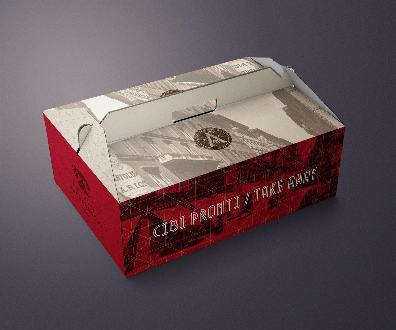 packaging per takeaway e delivery Arlù ristorante
