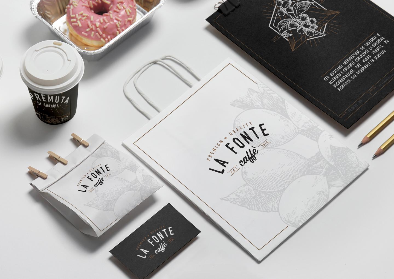 Brand identity La Fonte