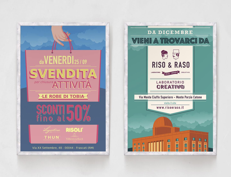 Poster Riso & Raso
