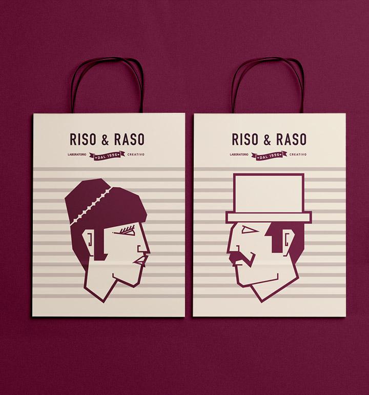 Brand Identity Riso & Raso