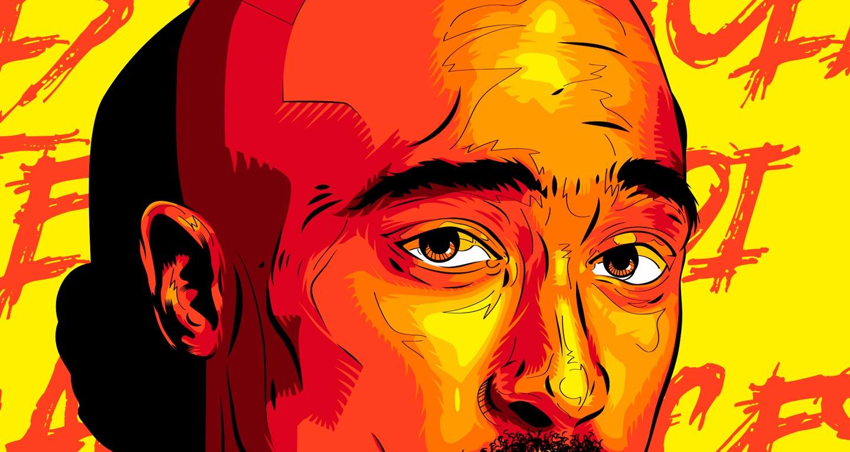 Tupac illustration detail