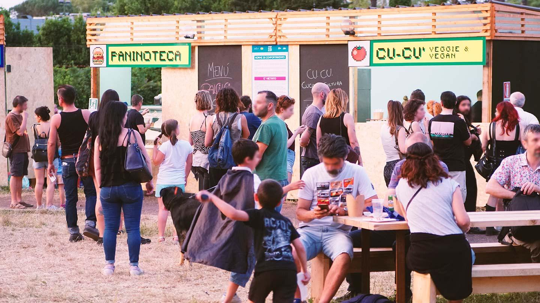 Insegne per stand Villa Ada Festival 2019